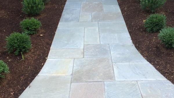 Complete Bluestone Walkway